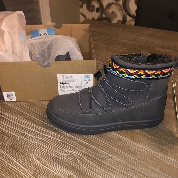 Toms Shoes   Kids Boots Youth Alpine